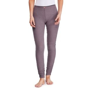 Free People Lou Lou Legging Gray Rouched Leg
